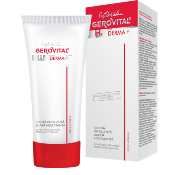 H3 Derma+ Super Moisturizing Emollient Cream 100ml