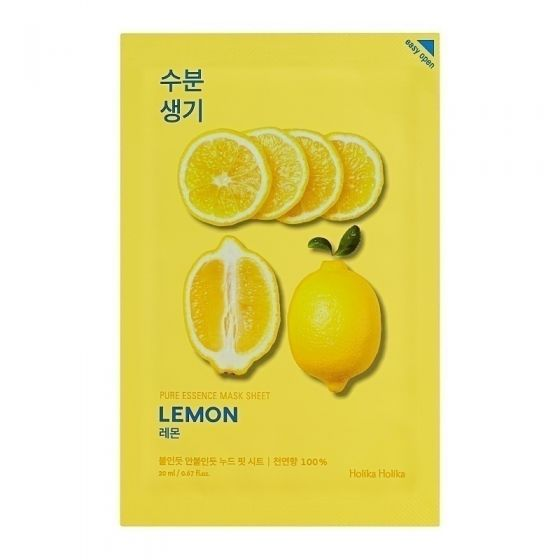 Pure Essence Mask Sheet- Lemon 20ml