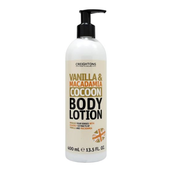 Vanilla & Macadamia Cocoon Body Lotion 400ml