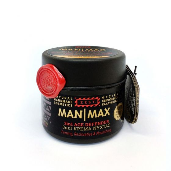 Man Max 3 in 1 Age Defender Firming, Restorative & Nourishing 50ml