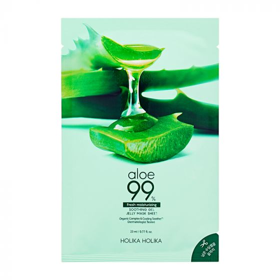 Aloe 99% Soothing Gel Jelly Mask Sheet 23ml