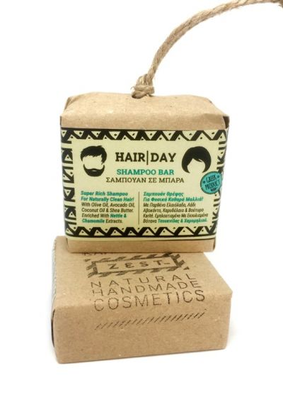 Hair Day Shampoo Bar 110gr