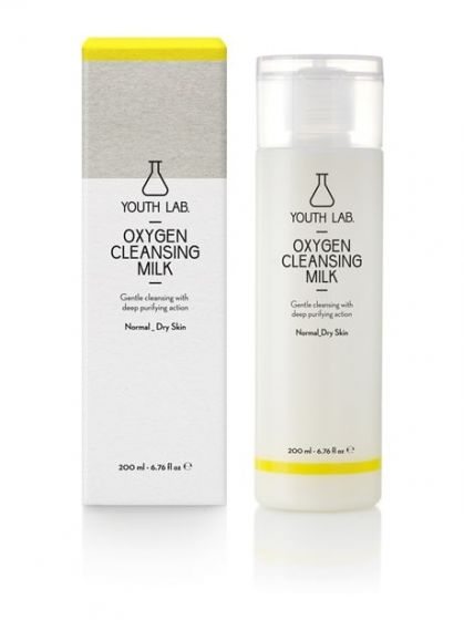Oxygen Cleansing Milk Normal_Dry Skin 200ml
