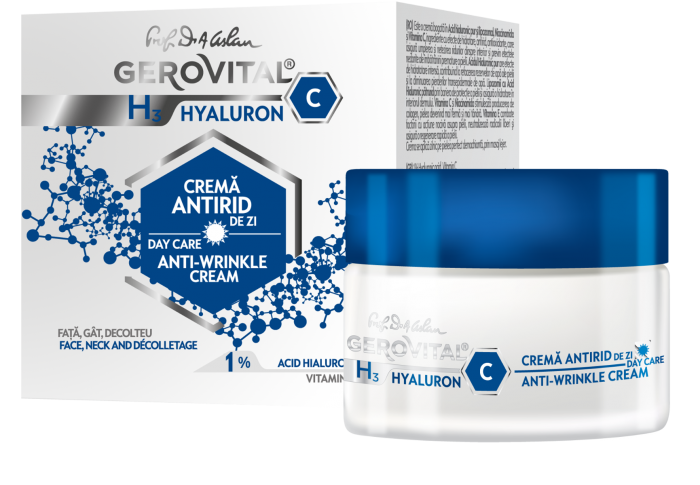 H3 Hyaluron C Anti-wrinkle Cream Day Care 50ml