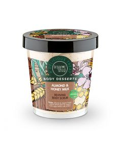 Body Desserts Almond & Honey Milk Reviving Body Scrub 450ml