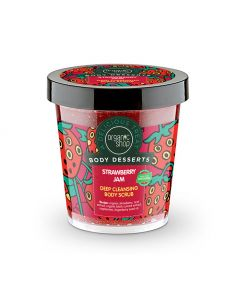 Body Desserts Strawberry Jam Deep Cleansing Body Scrub 450ml