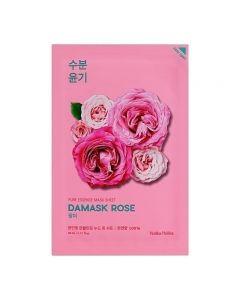 Pure Essence Mask Sheet- Damask Rose 20ml
