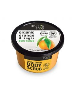 Organic Shop Body Scrub Orange & Sugar 250ml