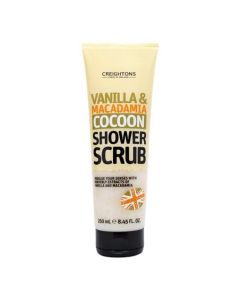 Vanilla & Macadamia Cocoon Shower Scrub 250ml