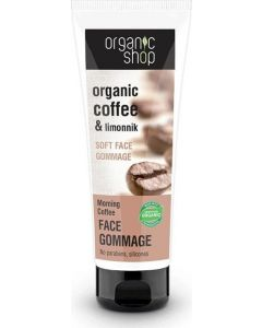 Organic Shop Soft Face Gommage Morning Coffee 75ml
