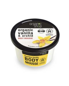 Organic Shop Body Mousse with Vanilla & Orchid 250ml