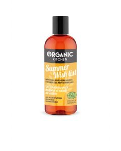 Organic Kitchen Summer Wish List Mood-enhancing Shower Gel with Sunbeams 260ml