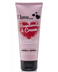Super Soft Hand Cream Strawberries & Cream 75ml