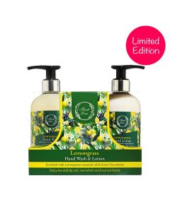 Lemongrass Refreshed & Beautifully Fragranced Hands 2pcs