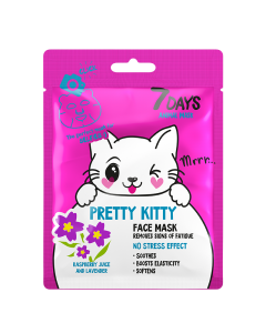 Animal Pretty Kitty Sheet Mask 28g