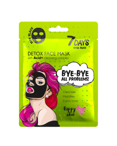 Total Black Bye-Bye, Skin Problems Sheet Mask 25g