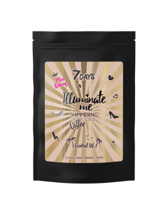 Miss Crazy Illuminate Me Shimmering Coffee Body Scrub 200gr