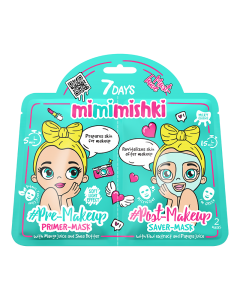 Mimimishki Pre & Post MakeUp Green 25g/25g
