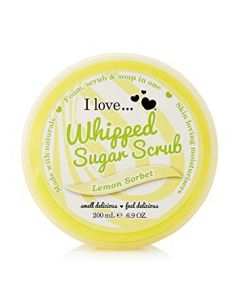 Whipped Sugar Scrub Lemon Sorbet 200ml