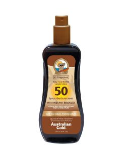 Spray Gel with Bronzer SPF50 - Cocoa Dreams 237ml