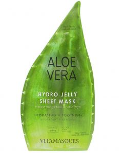Aloe Vera 2 Step Jelly Mask