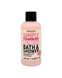 Simply Strawberry Refresh Bath & Shower Travel Size 100ml