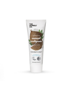 Humble Natural Toothpaste - Coconut + Salt 75ml