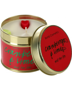 Cranberry & Lime Tin Candle