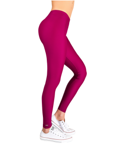 """Jacqueline"" Matte Cherry Leggings"