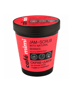 Jam-Scrub with natural berries Goji & Grapefruit 270gr