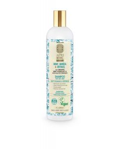 Super Siberica Mint, Bereza & Retinol Shampoo for Oily Hair 400ml