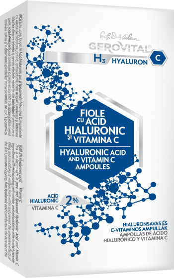 H3 Hyaluron C Hyaluronic Acid and Vitamin C Ampoules 10x2ml