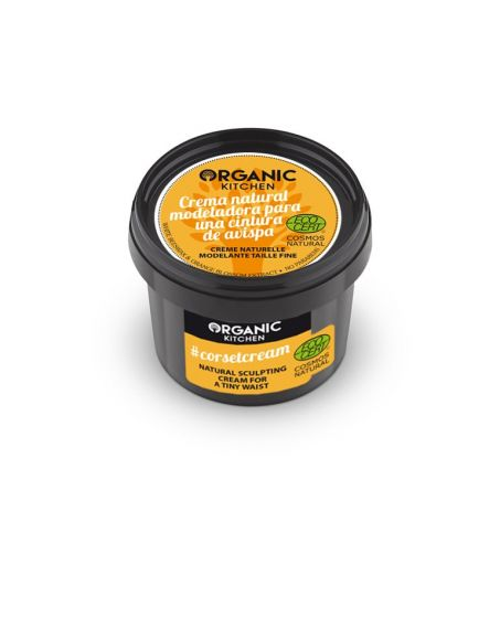 Organic Kitchen #corsetcream Natural Sculpting Cream for a Tiny Waist 100ml