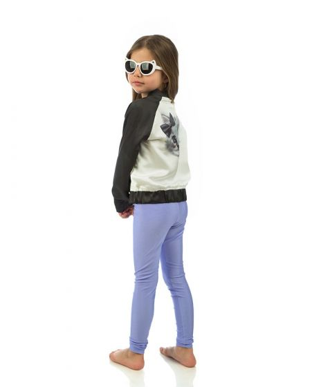"""Jaqueline"" Lilac Kiddo Leggings"