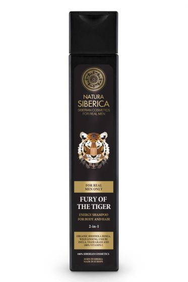 MEN Energy Shampoo for Body and Hair Fury of the Tiger 250 ml