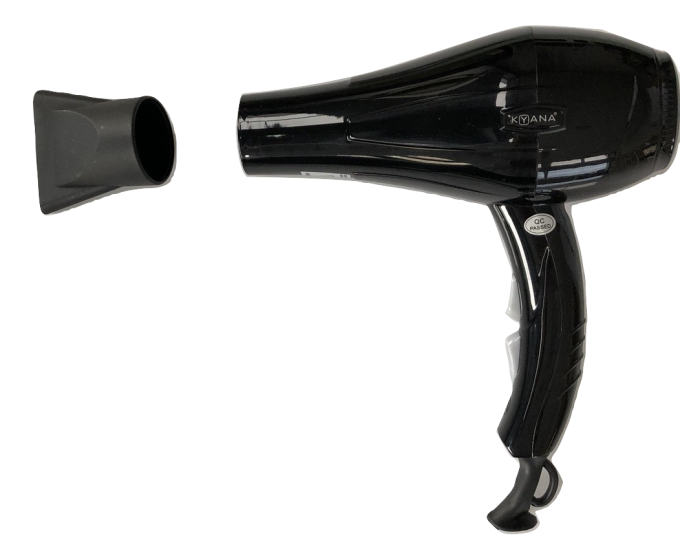 Unbreakable Hairdryer Black