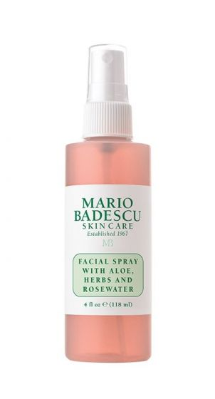 Facial Spray with Aloe, Herbs and Rosewater 118ml