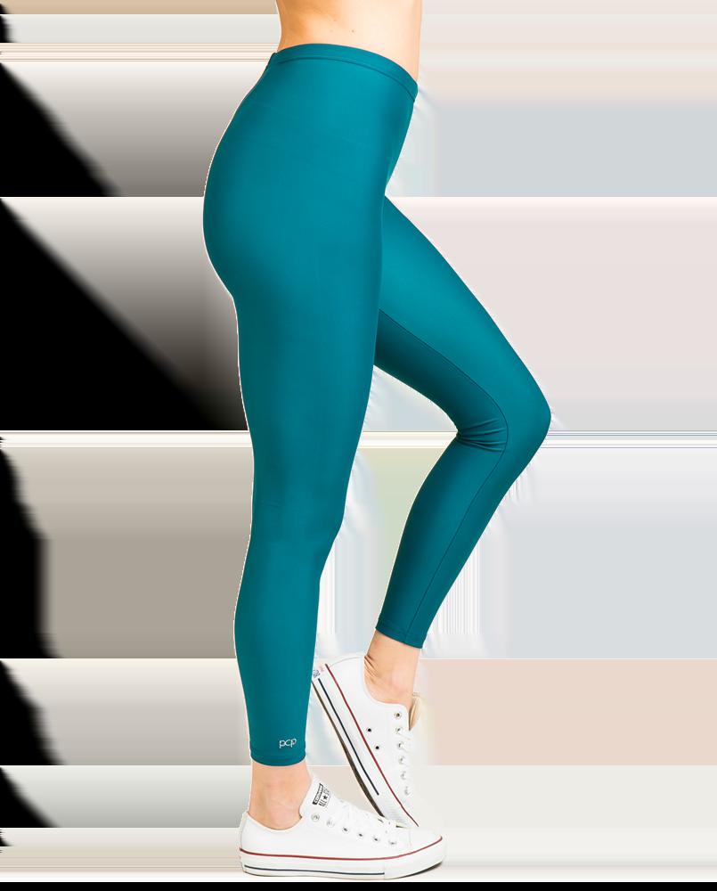 """""""Jacqueline"""" Matte Dark Green Leggings"""